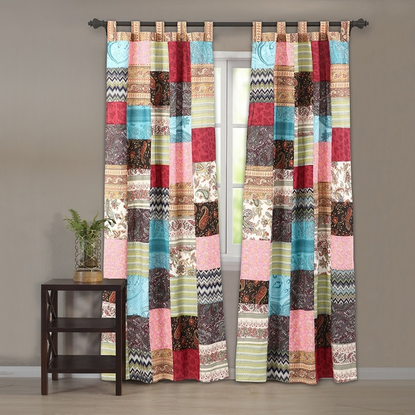 Greenland Home Fashions New Bohemian Curtain Panel Pair With Tie Backs Free Shipping Today