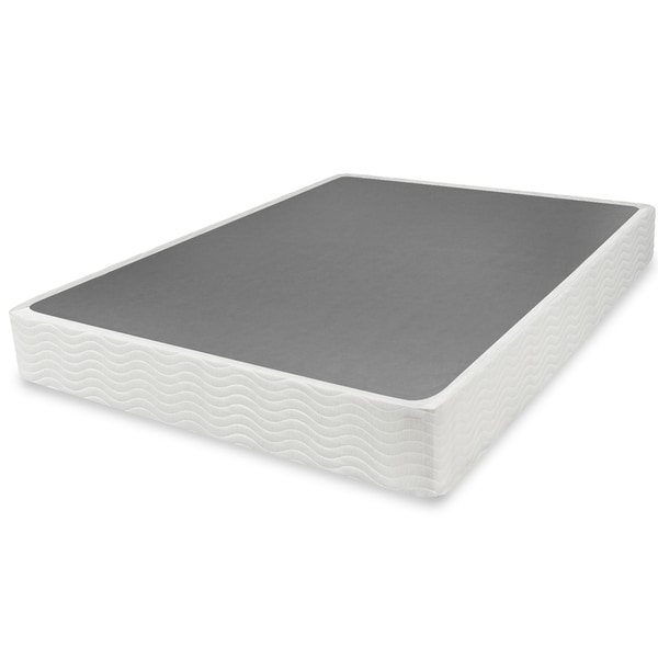 Priage 9 Inch Easy To Assemble Box Spring Mattress Foundation
