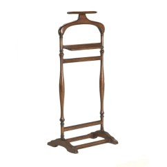 Mens Chair Valet Stand Living Room Covers At Target Shop Butler Cherry Free Shipping Today Overstock Com 10302524