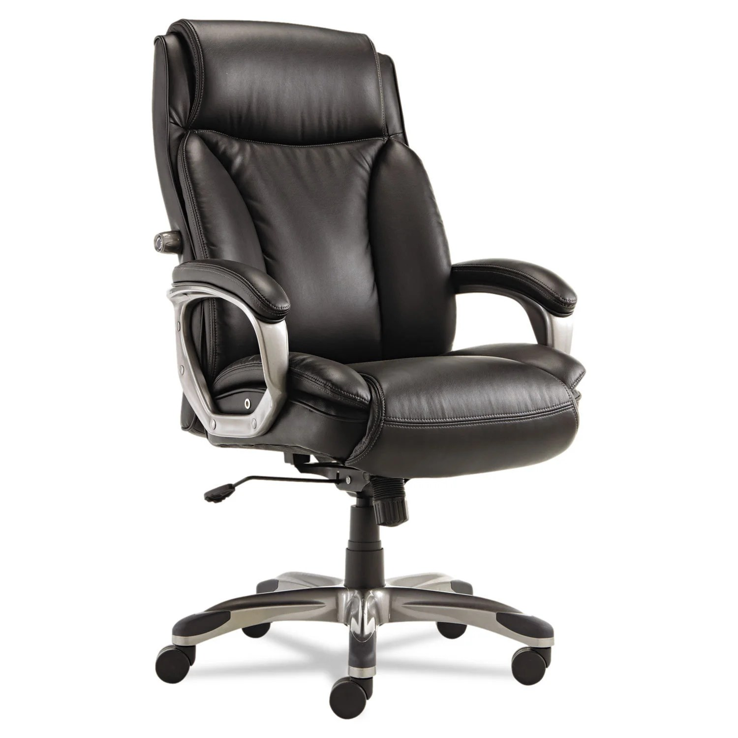 Executive Leather Chair Details About Alera Veon Series Black Executive High Back Leather Chair W Coil Spring