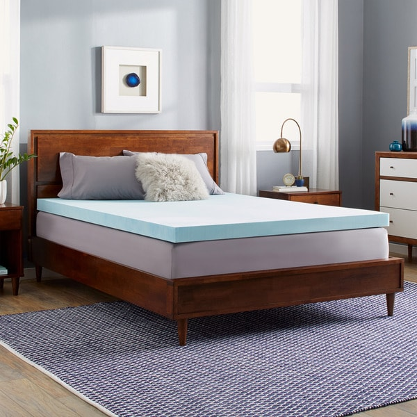 Slumber Solutions Choose Your Comfort 3 Inch Gel Memory Foam Mattress Topper
