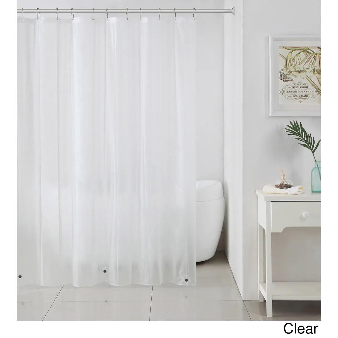 peva shower curtain liner w magnets