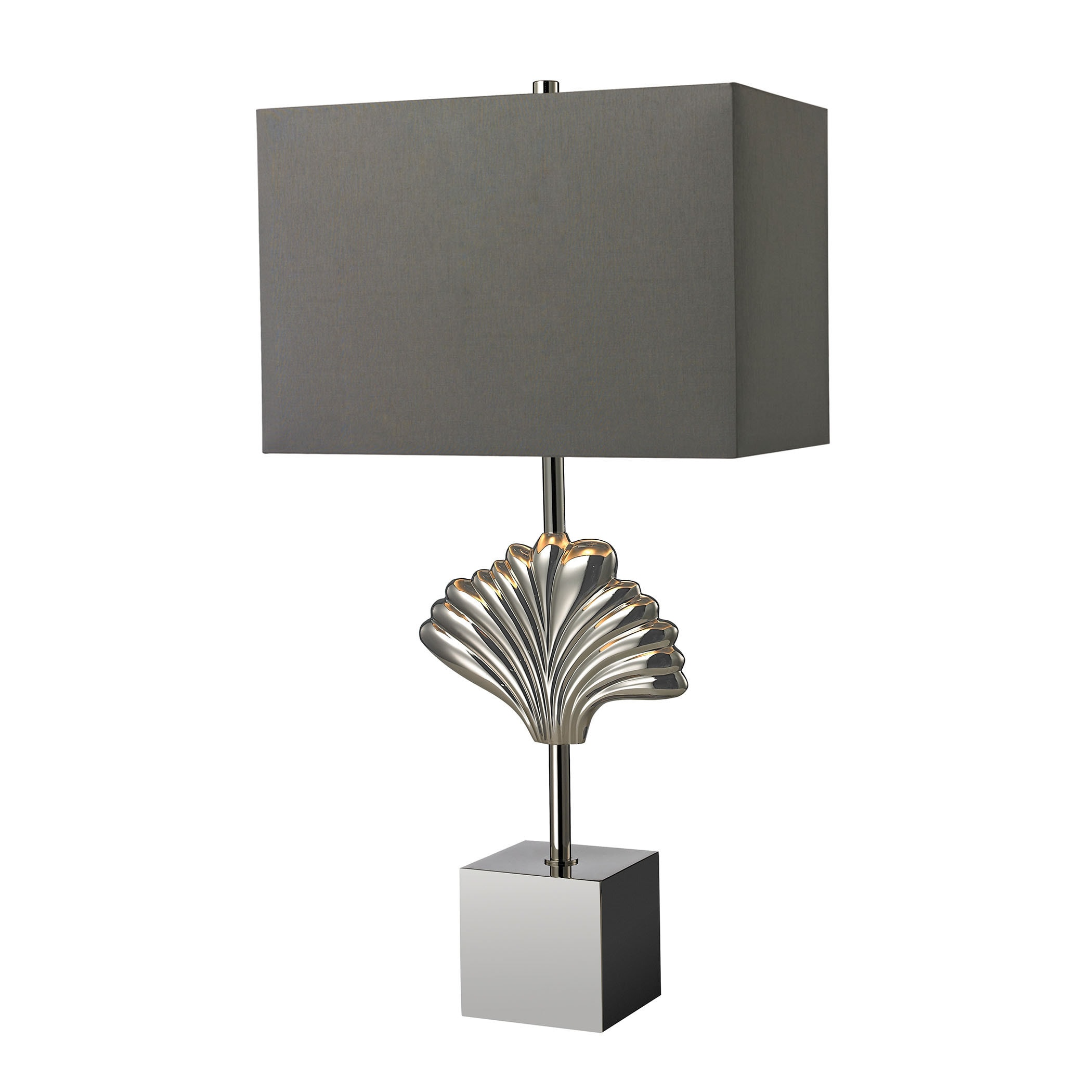 Dimond Vergato Solid Brass Polished Chrome Table Lamp