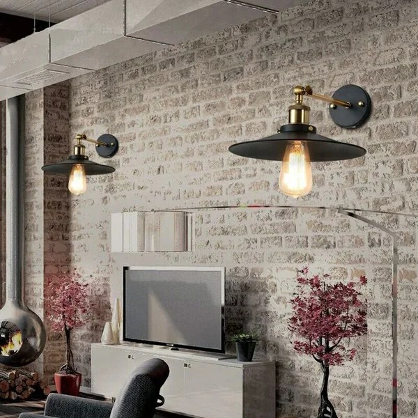 standard living room light bulb houzz chairs shop dorothy 1 black edison wall sconce with free shipping today overstock com 10319951