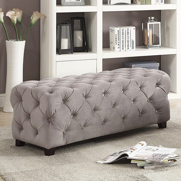 Extra Long Storage Ottoman