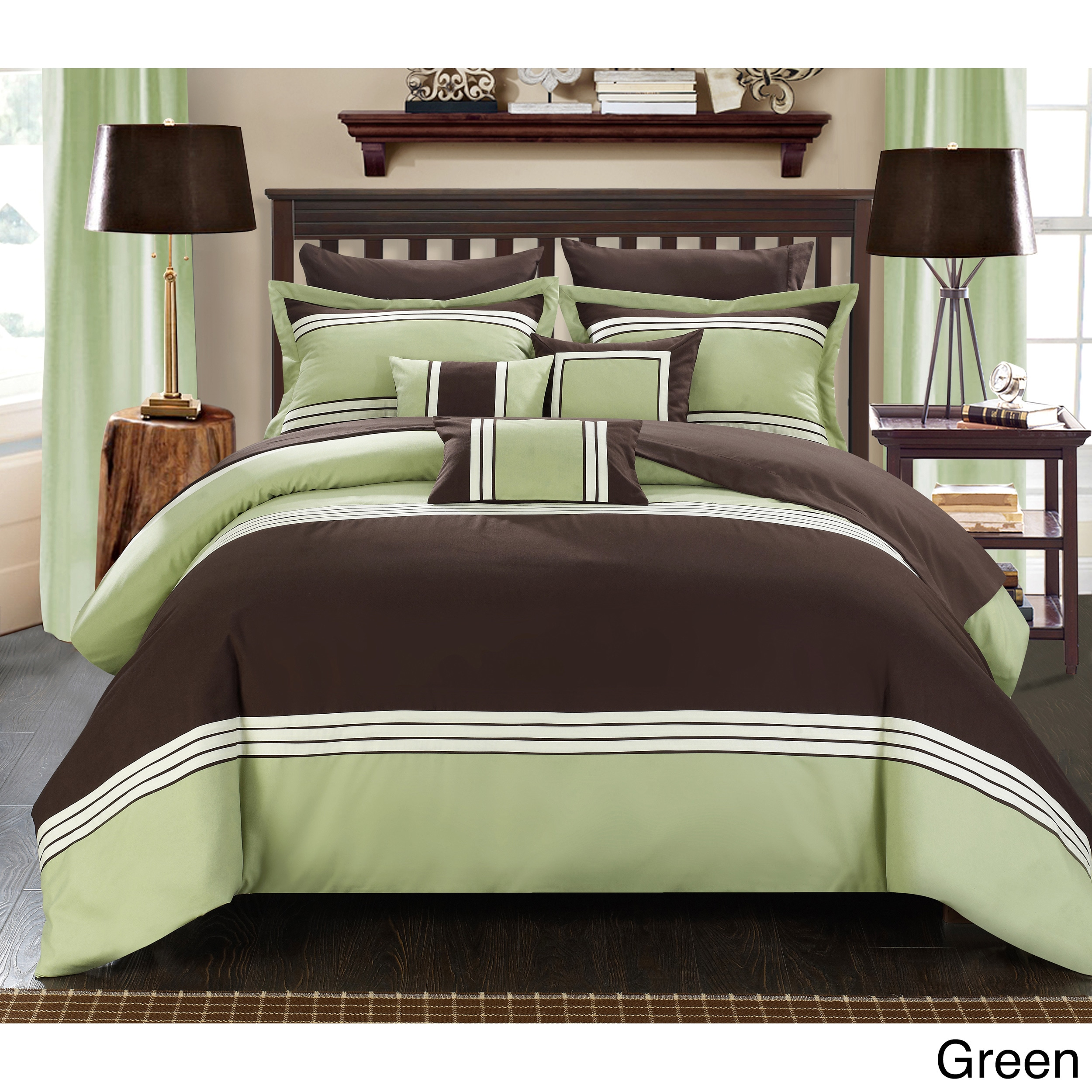 Green Comforter Sets For Less