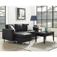 Baxton Studio Dobson Leather Modern Sectional Sofa Corner Bed 100+ Sofas Under $1,000 (comparison Chart)