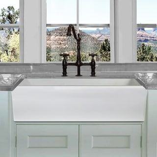 buy kitchen sink costco small appliances sinks online at overstock com our best deals highpoint collection white 36 inch single bowl rectangle fireclay farmhouse