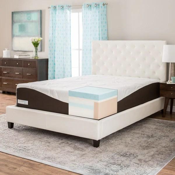 Comforpedic From Beautyrest 14 Inch King Size Gel Memory Foam Mattress