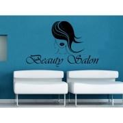beauty salon logo decor black