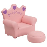 Shop Kids Plastic Pink Princess Chair - Free Shipping ...