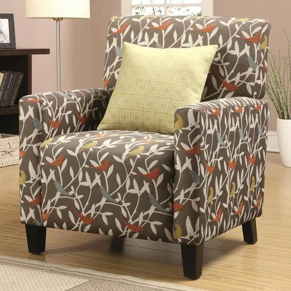 Casual Artistic MultiColor Bird Design Living Room Accent
