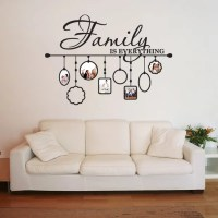 Shop Family Picture Frame Deco Vinyl Wall Art