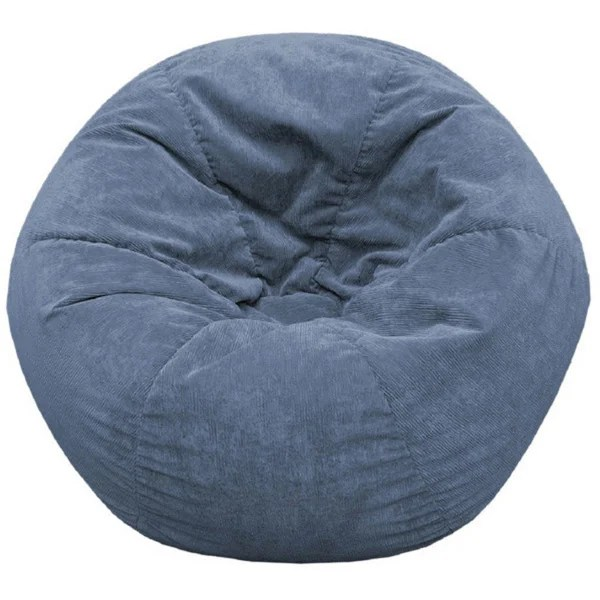 Shop Gold Medal Adult Sueded Corduroy Bean Bag Chair