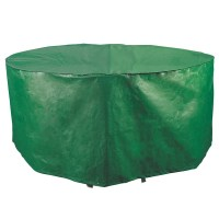 Bosmere Weatherproof 64-inch Round Patio Set Cover ...