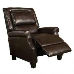 Darvis Leather Recliner Club Chair Brown Christopher Knight Home Black And Gold Chairs Rocking Recliners For Less Overstock