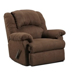 Rocker And Recliner Chair Office Guest Chairs Shop Aruba Microfiber Dual Chocolate Free