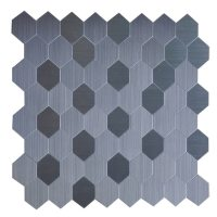 Shop Instant Mosaic 12 Inch Hexagon Peel and Stick Natural ...