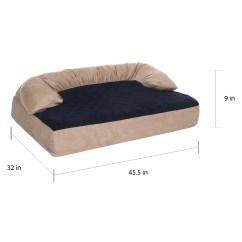 Sofa Covers Petsmart Ikea Kids Top Paw Orthopedic Bed Brokeasshome