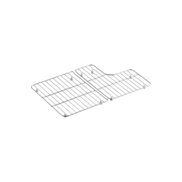 Shop Kohler Stainless Steel Bottom Bowl Racks For 30 inch