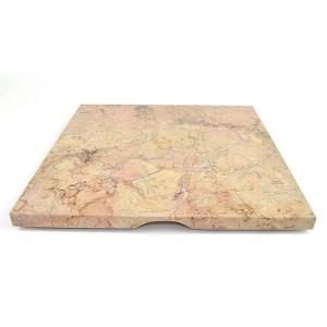 Nature Home Decor Sahara Beige 12-inch Square Cheese Board