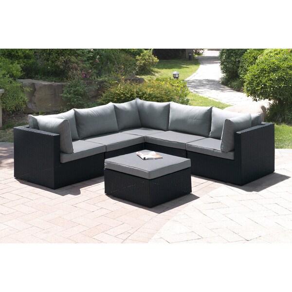 Tetiiv 6 Piece Patio Sectional Sofa Set Free Shipping Today