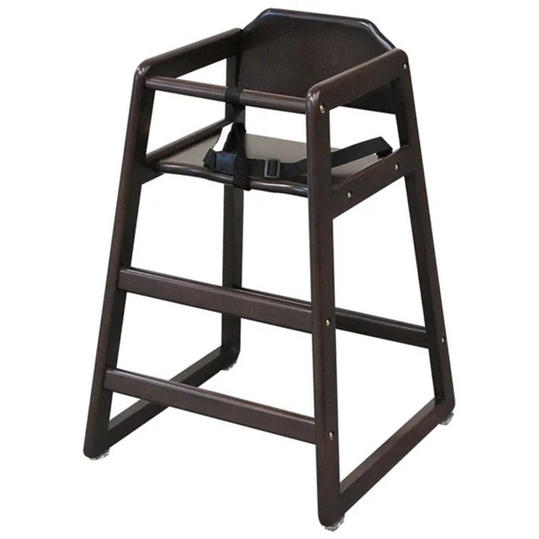 Shop LA Baby Commercial Restaurant High Chair  Free