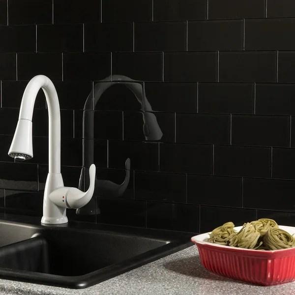 buy black backsplash tiles online at