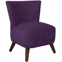 Safavieh Retro Purple Accent Chair - 14000633 - Overstock ...