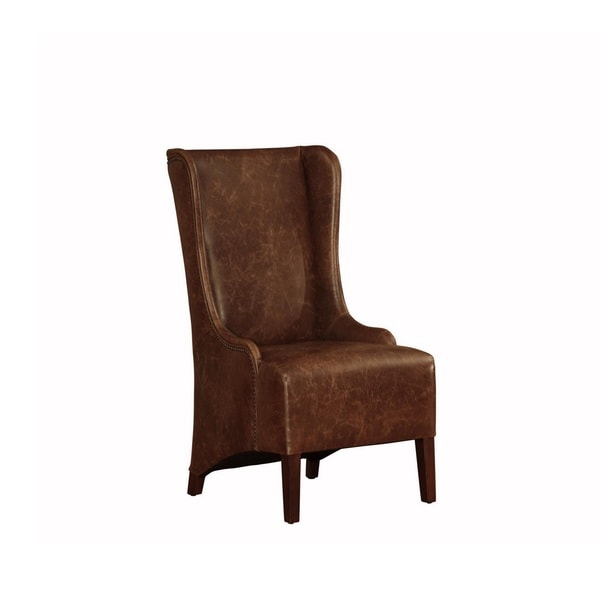 king furniture dining chairs pibbs pedicure chair shop lazzaro leather high back free shipping today overstock com 10534423