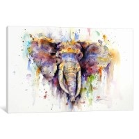 Shop Elephant Canvas Wall Art - On Sale - Free Shipping ...