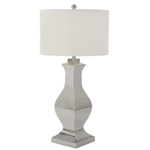 Casa Cortes Leeds Collection 29-inch Tall Stainless Steel Table Lamp