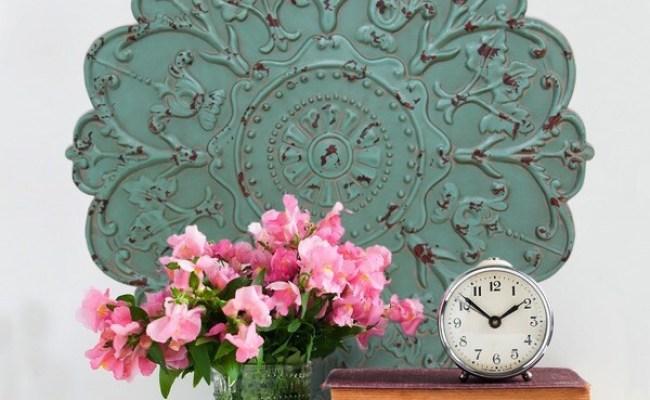 Stratton Home Decor Shabby Medallion Wall Decor Free