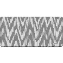 Grey Kitchen Mat Undermount Porcelain Sink Shop Cuisinart Anti Fatigue Chevron Ikat 20 X 41 Free Shipping On Orders Over 45 Overstock Com 10546690