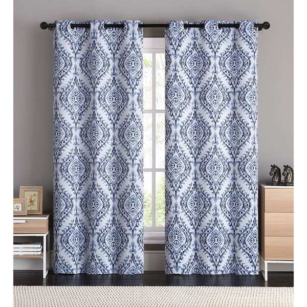 VCNY London Blackout Curtain Panel Pair Free Shipping On Orders