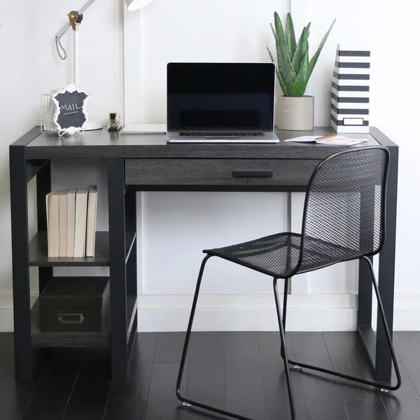 48inch Charcoal Computer Desk  Free Shipping Today