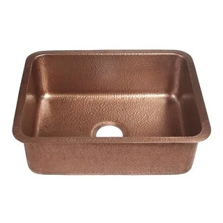 brown kitchen sink with apron buy sinks online at overstock com our best deals sinkology renoir undermount handmade 23 single bowl