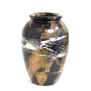 Nature Home Decor  Michelangelo Marble 10 inch Kitchen Vase