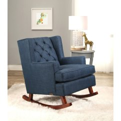Abbyson Living Thatcher Fabric Rocking Chair In Beige Commercial Pool Lounge Chairs Buy Room Online At Overstock Our Best