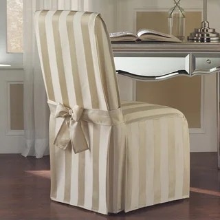 wood arm chair covers sleeper sofa twin buy slipcovers online at overstock com our best quick view