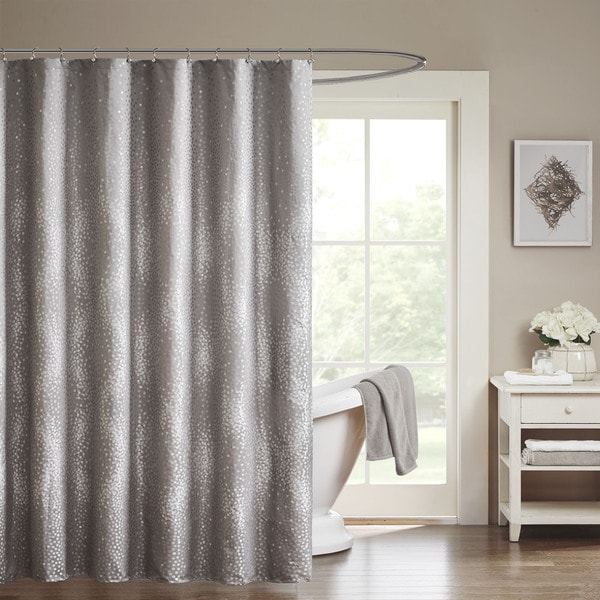 Shop Madison Park Crawford Shower Curtain  Free Shipping