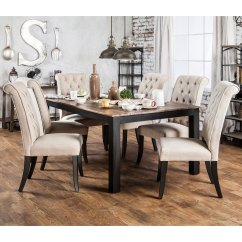 Overstock Com Dining Room Chairs Best Bean Bag 2018 Shop Furniture Of America Sheila Rustic Two Tone