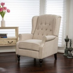 Chair In Living Room Modern French Decor Ideas 10 Off Or More Chairs For Less Overstock Walter Fabric Recliner Club By Christopher Knight Home