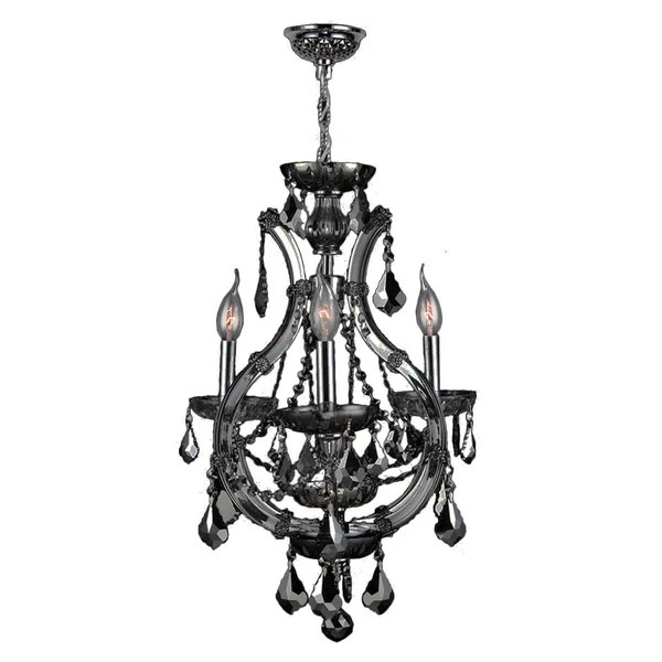 Shop Maria Theresa Collection 4 Light Chrome Finish and
