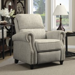 Christopher Knight Leather Chair Ikea Bean Bag Chairs Prolounger Barley Tan Linen Push Back Recliner - 17668399 Overstock.com Shopping Big ...