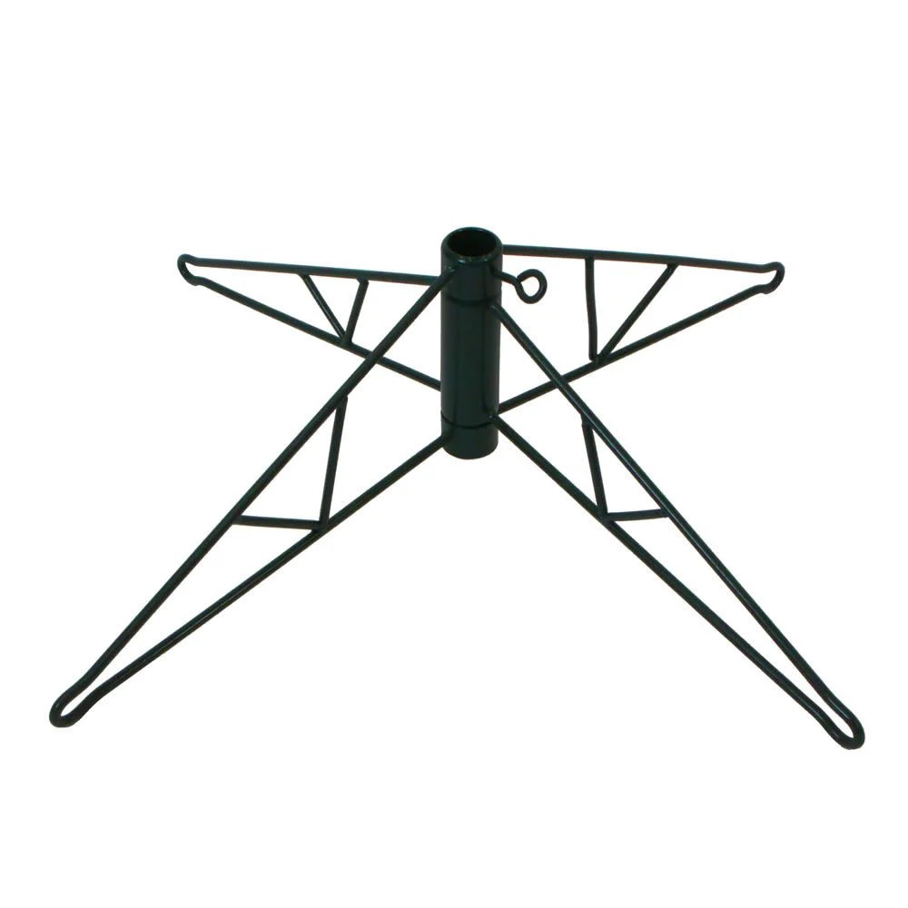 28-inch Green Tree Stand For 8 to 9.5-foot Trees Black