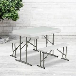 Folding Picnic Table 12032221 Overstock Com Shopping