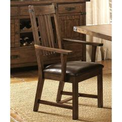 Overstock Arm Chair Childrens Outdoor Table And Chairs Shop Rimon Solid Wood Mission Style Rustic Dining Set Of 2 Free Shipping Today Com 10652704