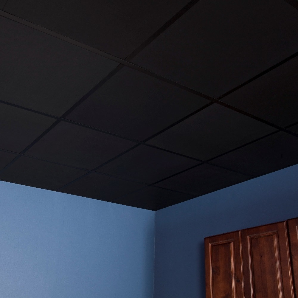 genesis smooth pro 2 x 2 ft lay in ceiling tiles pack of 12