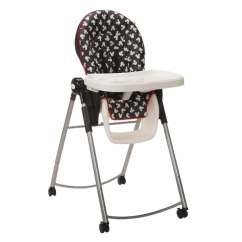 Height Adjustable High Chair Baby Reading Chairs For Bedroom Shop Disney In Mickey Silhouette Free Shipping Today Overstock Com 10676239